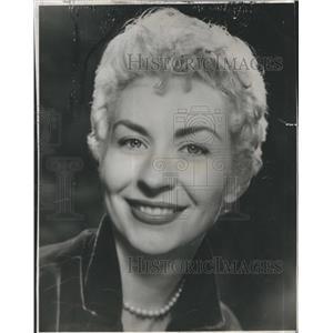 1959 Press Photo Actress Libi Staiger