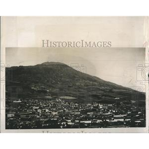 1947 Press Photo Aerial View of Pasco, Colombia