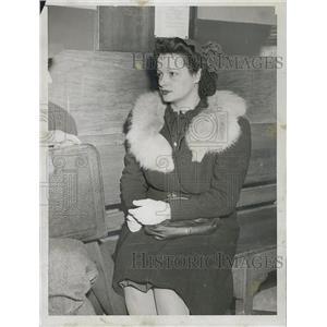 1946 Press Photo Mrs Rita Langone of Suffolk