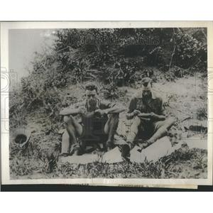 1929 Press Photo Duke of Gloucester Lion Game Hunting