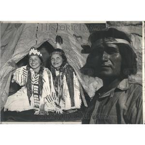 1940 Press Photo Hopi Indians De Smet Idaho Ceremony