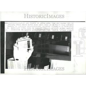 1972 Press Photo Federal Aviation Administration Juneau
