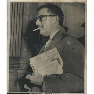 1956 Press Photo Washinton Employees Aiden Whitman - RRR99589