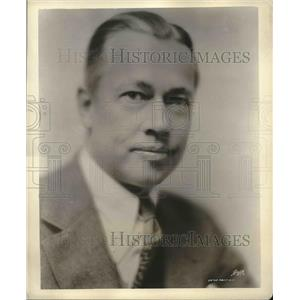 1929 Press Photo Reinald Werrenrath, Baritone
