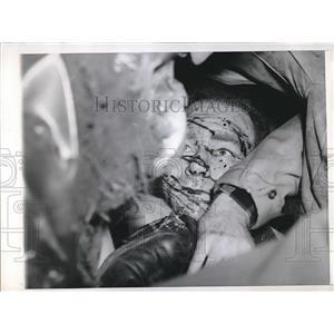 1947 Press Photo August R. Ball, Pilot of BT-13 Training Plane Crashed