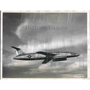 1949 Press Photo New Martin XB-51 jet bomber for test flight