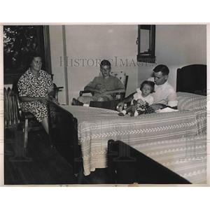 1939 Press Photo First Vacationers at Sanitation Department's Resort New York