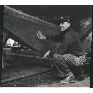 1931 Press Photo Gregory Frederick Spindrift Shipman - RRT31557