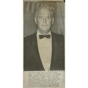 1968 Press Photo Charles Lindbergh Award Social Science - RRT51287