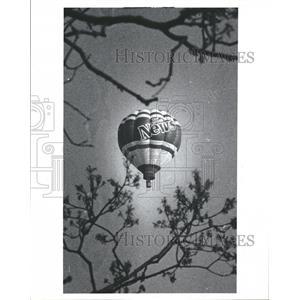 1980 Press Photo Detroit News Aero Balloon - RRT83121