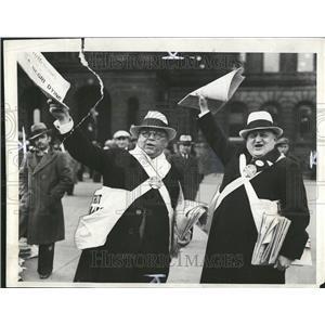 1931 Press Photo Henry J Gutrard William Newsboys - RRT22253