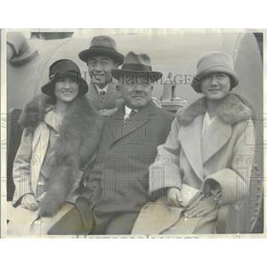 1928 Press Photo Katsuji Debuchi Japan United States - RRT57511