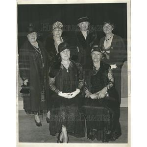 1932 Press Photo Woman's national committee