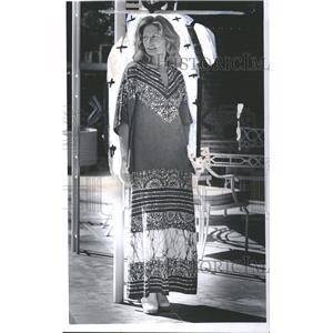 1978 Press Photo Cristina Henry II Ford Motor Life Wear