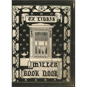 1931 Press Photo Book Plate Northwestern High