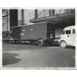 1953 Press Photo Air Forces Mobile Dental Unit Korea - RRS76341