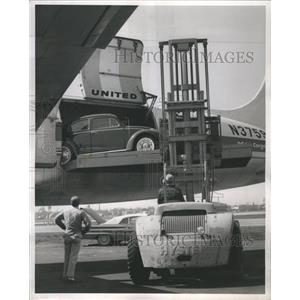 1962 Press Photo Autos are Flying These Days - RRS51321