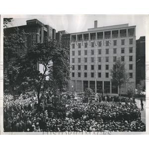 1923 Press Photo AFL-CIO Bldg Washington - RRS09603