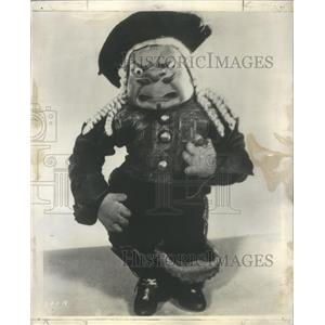 1930 Press Photo Puppets New Gullinie Playing