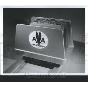 1967 Press Photo American Airlines Luggage Storage Bins - RRS84063