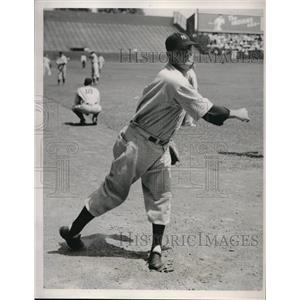 1936 Press Photo Pat Malone baseball Player - nes00859