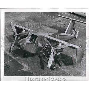 1957 Press Photo U.S. Army Vertical takeoff and landing. - nem00895