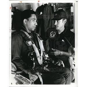 1981 Press Photo Sgt. Jim Goodman Leon Bibb Thunderbirds
