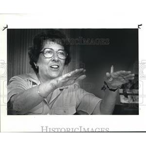 1986 Press Photo Pilot Mary Campana - cva07263