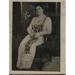 1918 Press Photo Madame Schwimmer Hungarian Amb to Switzerland