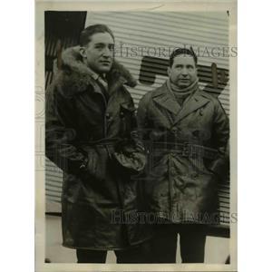 1930 Photo Bolivian Aviators Lucio Luizaga and Capt. Horacio Vasquez