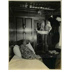 1928 Press Photo Canadian National Railways new passenger compartments