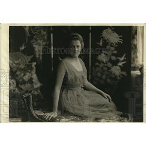 1919 Press Photo Miss Anne gordon Debutantes Washington