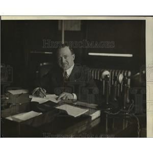 1918 Press Photo Dr Lewis Austin, Head of Board of Health, N.Y.C.