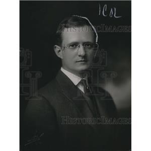 1918 Press Photo Judge JP Wood, Presiding Judge in New York Superior Court