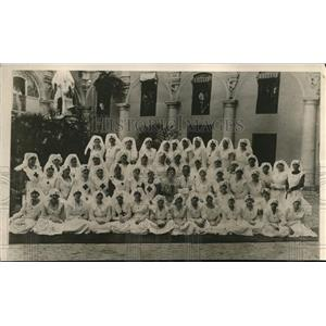 1918 Press Photo Trained Nurses Cuban Division of the Army of Mercy