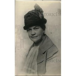 1918 Press Photo Mrs Alice M French President War Mother of Indiana