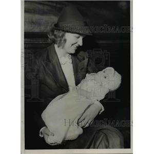 1936 Press Photo Mrs Thomas Yawkey, Wife Of Owner Of Boston Red Sox Team