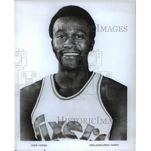 Undated Press Photo Jake Jones, Philadelphia 76ers
