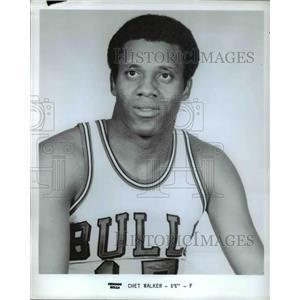 Press Photo Chet Walkers of Chicago Bulls