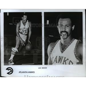 Press Photo Lou Hudson of Atlanta Hawks