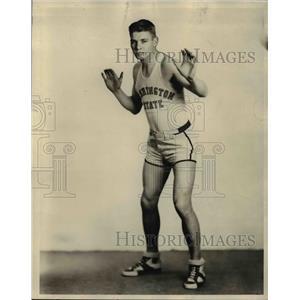 1931 Press Photo Claud Holsten Forward Washington State