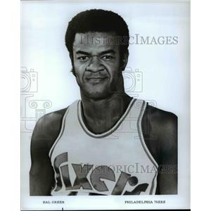 Press Photo Hal Greer of Philadelphia 76ers