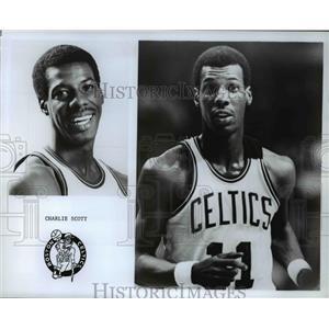 Press Photo Charlie Scott Boston Celtics