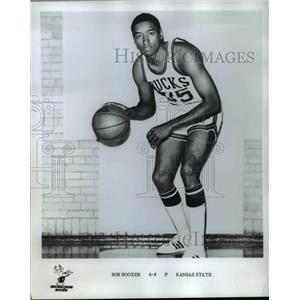 1975 Press Photo Bob Boozer, Milwaukee Bucks Basketball Team Forward