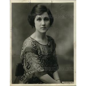 1921 Press Photo Loring Christie Oltarva Canada wife to Canadian External Affair