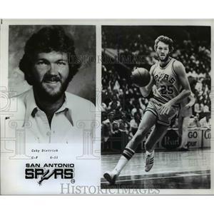 1978 Press Photo Coby Dietrisk of the San Antonio Spurs