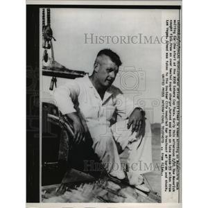 1959 Press Photo Hydroplane Driver Bill Stead