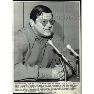 1971 Press Photo Alex Karras Detroit Lions defensive tackle