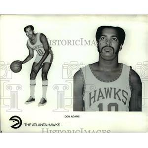 Press Photo Don Adams of Atlanta Hawks