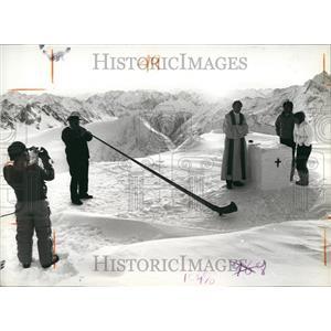 1982 Press Photo Lucerne mountain wedding especially for Japanese - KSB58631